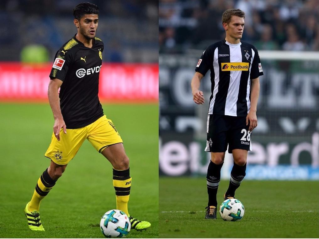 Mahmoud Dahoud (l.) und Matthias Ginter stehen vor einem Wiedersehen mit dem Ex-Klub