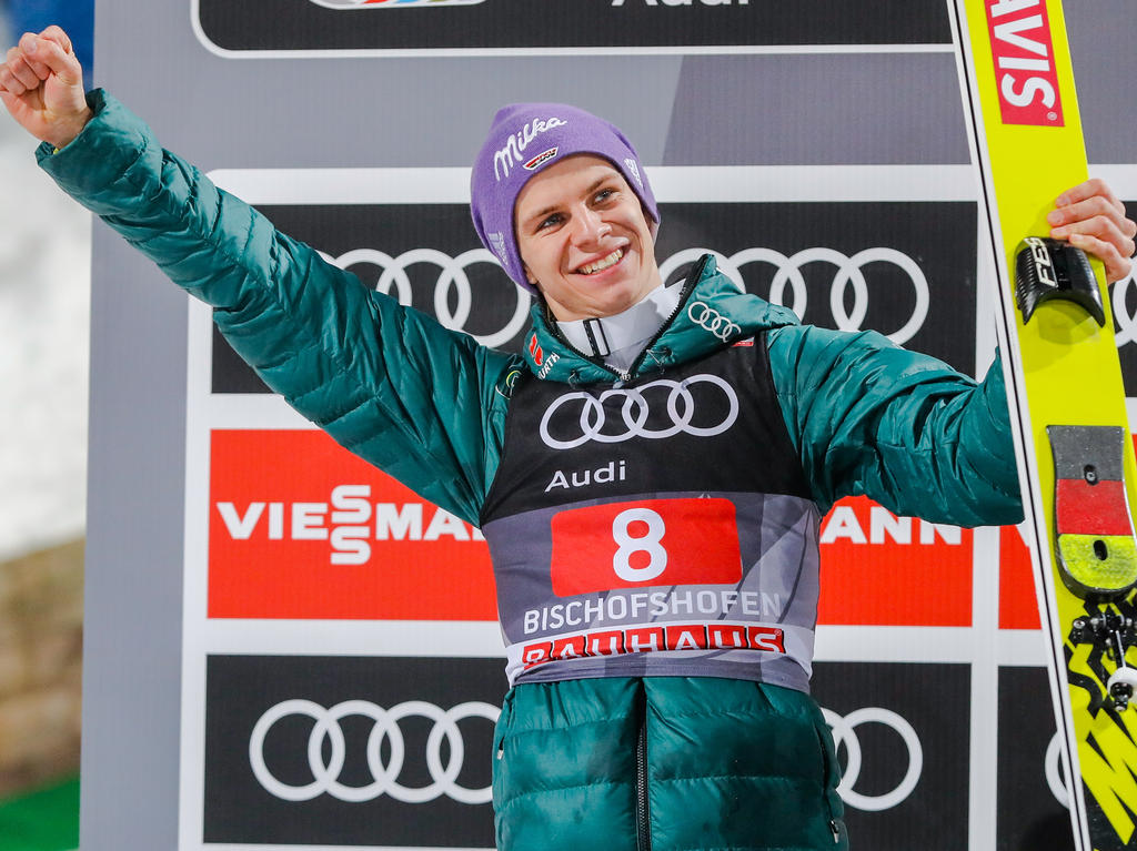 Andreas Wellinger absolvierte eine starke Vierschanzentournee