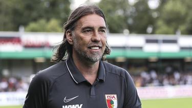 Martin Schmidt freut sich auf die Neuzugänge beim FC Augsburg
