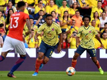 Colombia y Chile igualaron a falta de puntería.