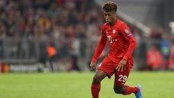 Kingsley Coman vom FC Bayern hat den Speed-Rekord der Bundesliga gebrochen