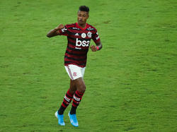 Bruno Henrique inauguró el marcador bien pronto.