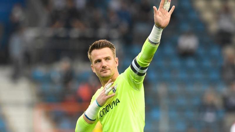 Manuel Riemann vom VfL Bochum war mit der Partie gegen den VfB Stuttgart nicht zu 100Prozent zufrieden