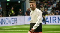 Lukas Podolski steht jetzt beim türkischen Erstligisten Antalyaspor unter Vertrag