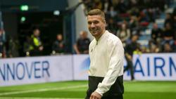 Podolski traf in der 80. Minute zum 2:1 Siegtreffer