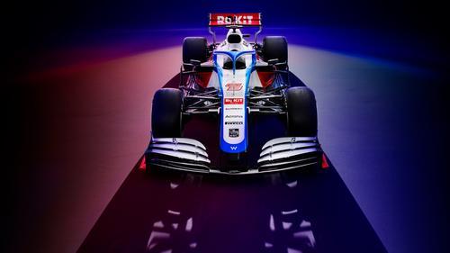 Der Williams FW43 kommt mit ein bisschen mehr roter Farbe daher