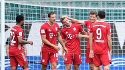 FC Bayern siegt deutlich beim VfL Wolfsburg