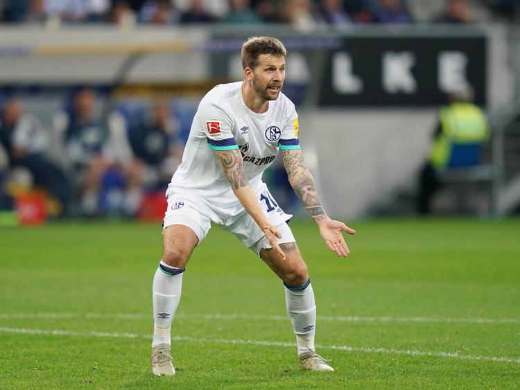 Guido Burgstaller hat beim FC Schalke 04 wohl keine Zukunft mehr