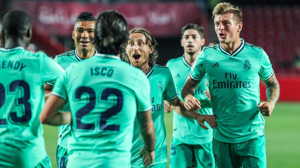 Real Madrid steht vor dem nächsten Meistertitel