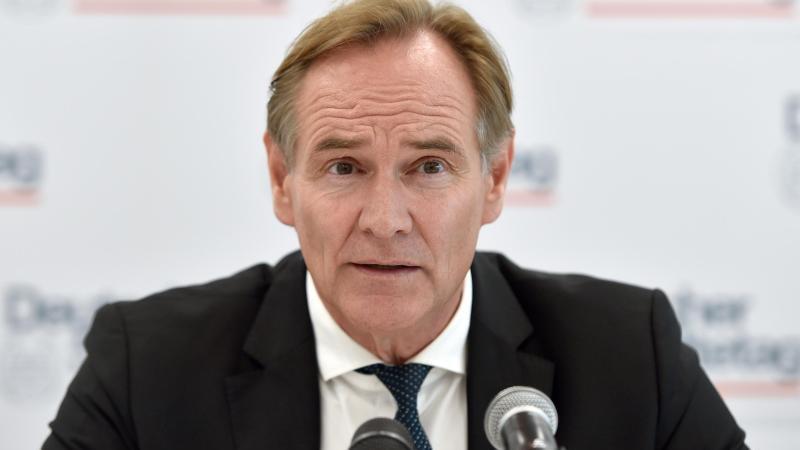 Burkhard Jung (SPD) ist der Oberbürgermeister der Stadt Leipzig
