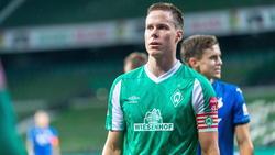 Suchte den Austausch mit Werder-Coach Florian Kohfeldt: Niklas Moisander