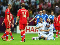 Griechenland zieht statt Russland ins Viertelfinale ein