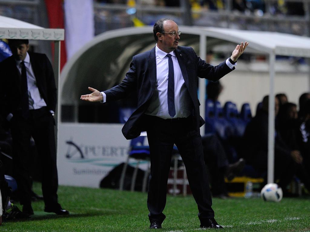Real-Coach Rafa Benítez muss um seinen Job bangen