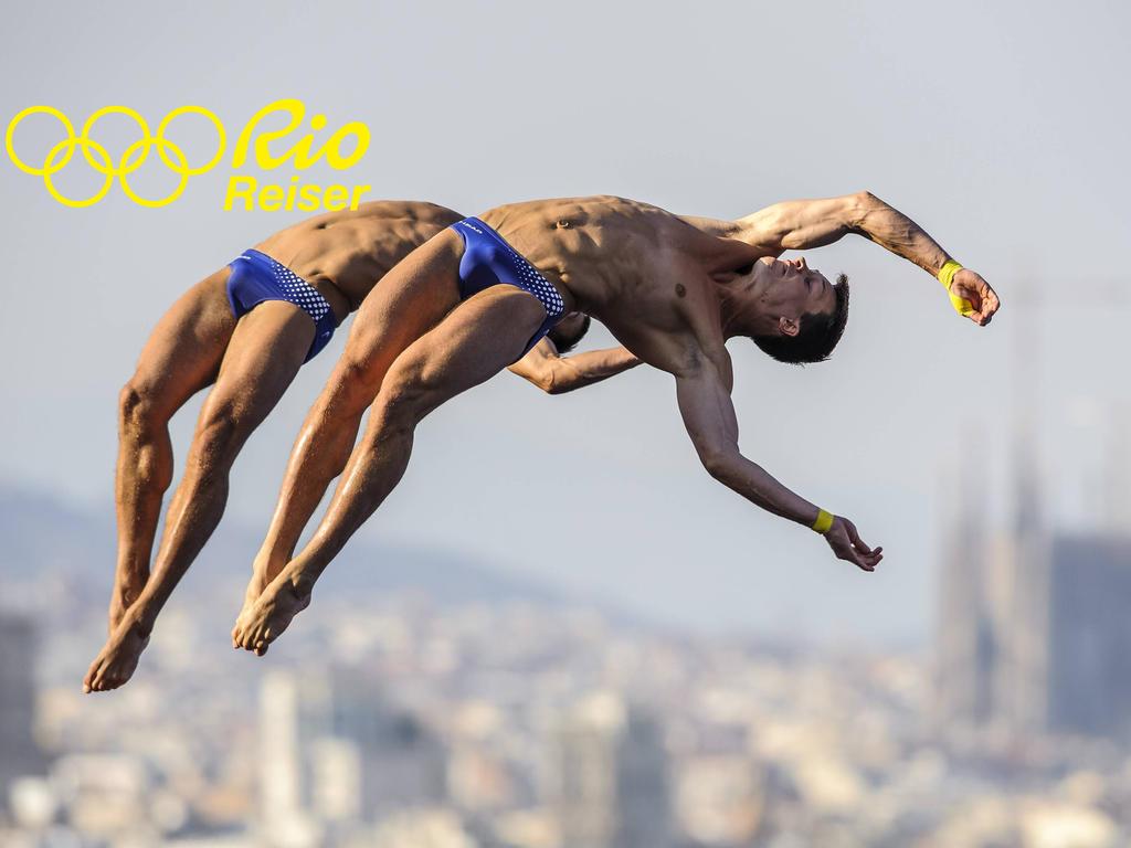 Patrick Hausding (vorne) will in Rio endlich wieder olympisches Edelmetall