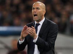 Zidane weiß, was von ihm erwartet wird