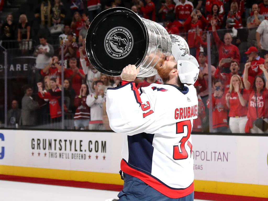 Phlipp Grubauer gewann mit den Washington Capitals den Stanley Cup