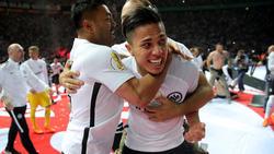 Carlos Salcedo bekennt sich zu Eintracht Frankfurt