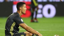 Juventus wartet weiterhin auf den ersten Treffer von CR7