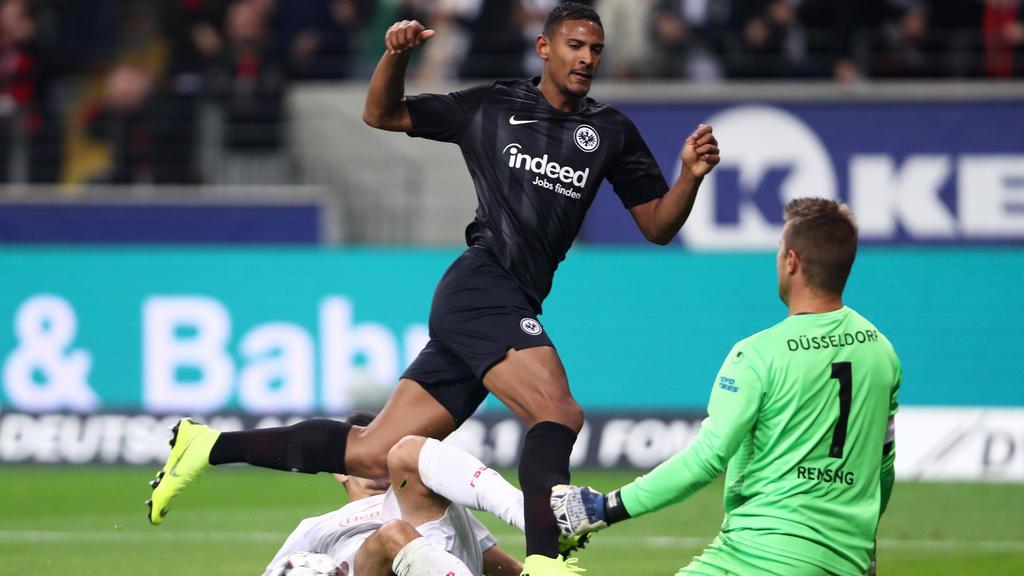 Sébastien Haller und die Eintracht aus Frankfurt träumen vom Europa-League-Titel
