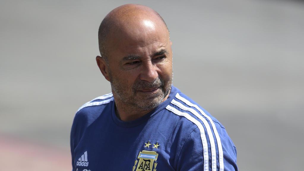 War nur ein Jahr Trainer Argentiniens: Jorge Sampaoli