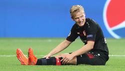 Joel Pohjanpalo musste bei Bayer Leverkusen acht Monate pausieren