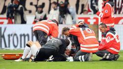 Christian Gentner spielte nach seiner Kopfverletzung 2017 bis zum Saisonende mit einer Maske