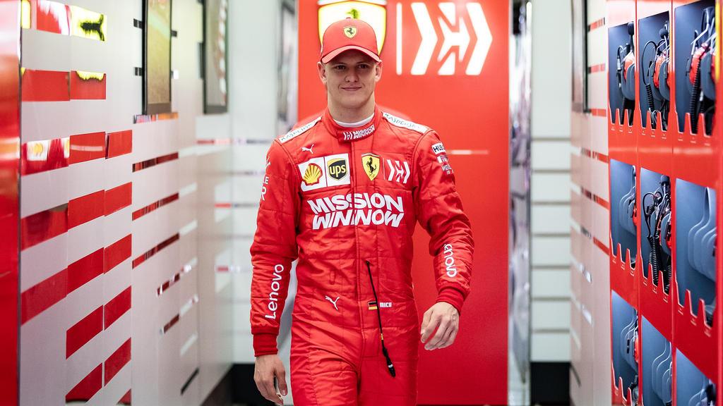 Auf den Spuren seines Vaters: Formel-2-Fahrer Mick Schumacher