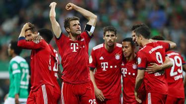 Der FC Bayern München steht im Finale des DFB-Pokals