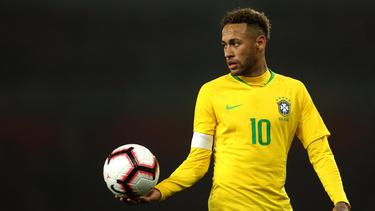 Neymar soll die brasilianische Nationalmannschaft zum Titel führen