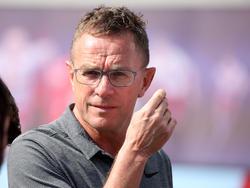 Sportdirektor Ralf Rangnick legte alle Vertragsverhandlungen auf Eis