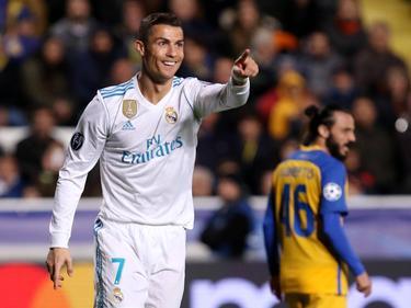 Cristiano volvió a brillar en 'su' competición con un doblete. (Foto: Imago)