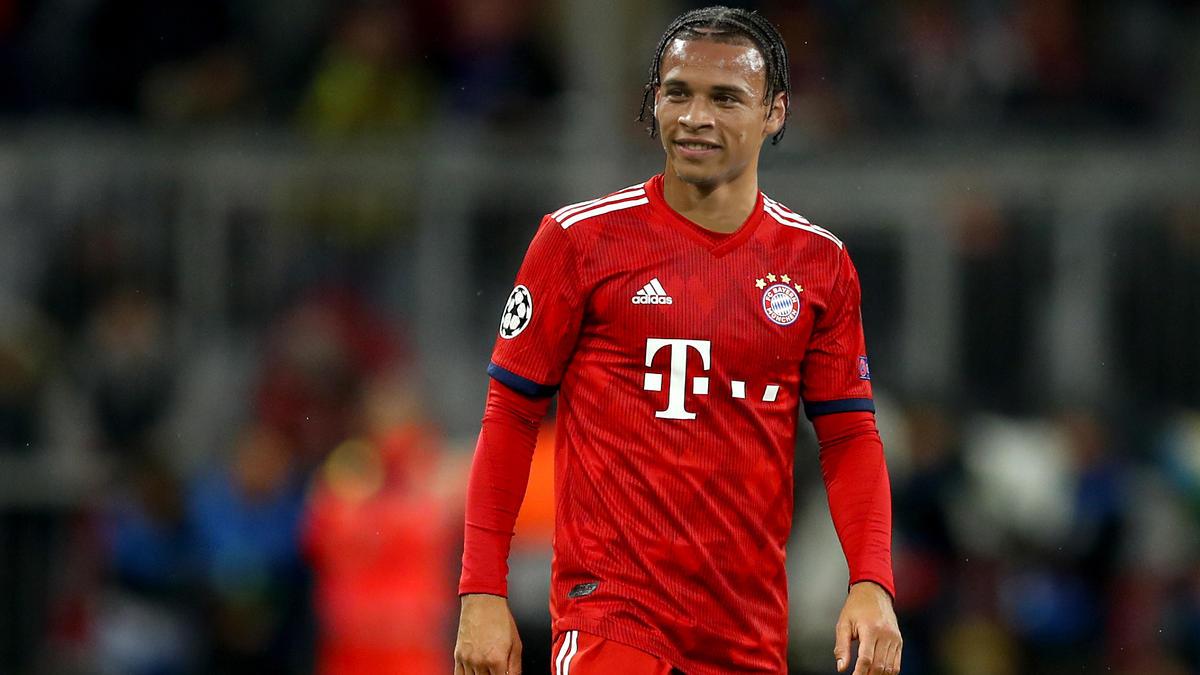 Sehen wir Leroy Sané in Zukunft im Trikot des FC Bayern? (Fotomontage)