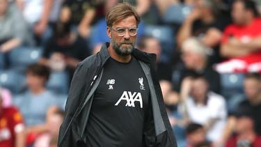 Jürgen Klopp startet mit dem FC Liverpool gegen Norwich City
