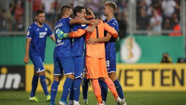 Oliver Baumann bewahrte sein Team im Elfmeterschießen vor dem Aus
