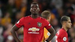 Manchester Uniteds Paul Pogba wurde rassistisch beleidigt. Foto: Nick Potts/PA Wire