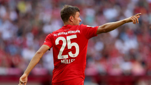 Thomas Müller und der FC Bayern lassen keine Zweifel an ihrer Favoritenrolle