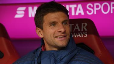 Thomas Müller saß beim FC Bayern zuletzt oft auf der Bank