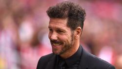 Diego Simeone ist seit 2011 Trainer von Atlético Madrid