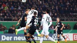 Bas Dost traf doppelt für Eintracht Frankfurt