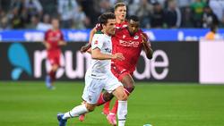 Gladbachs Jonas Hofmann musste gegen Bielefeld vorzeitig vom Feld