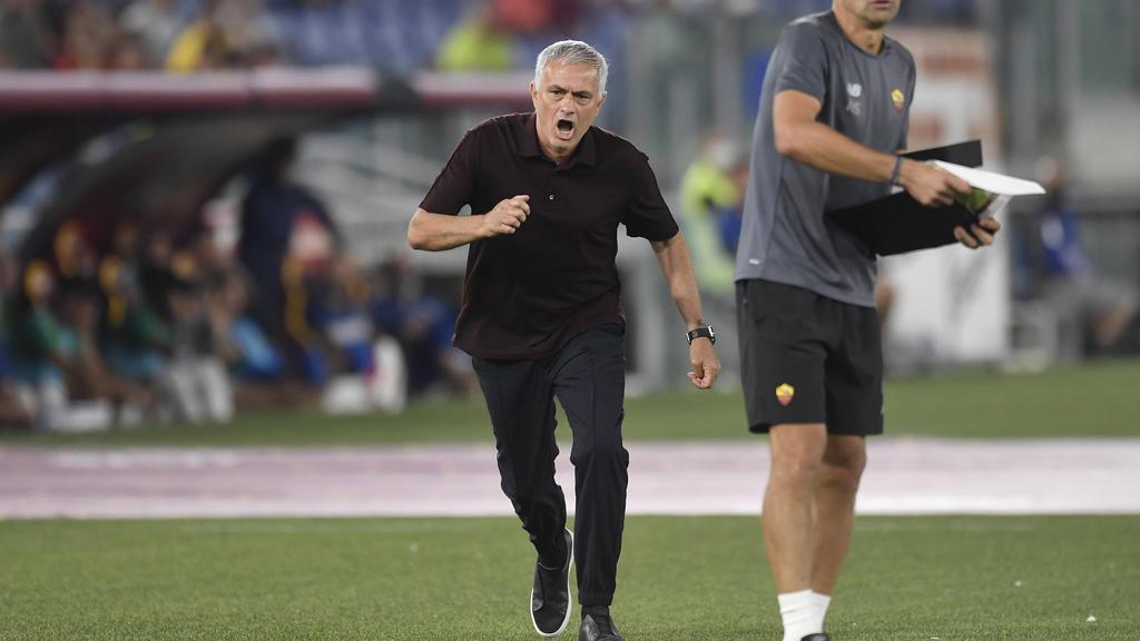 José Mourinho hat sein 1000. Spiel auf der Trainerbank heruntergespielt