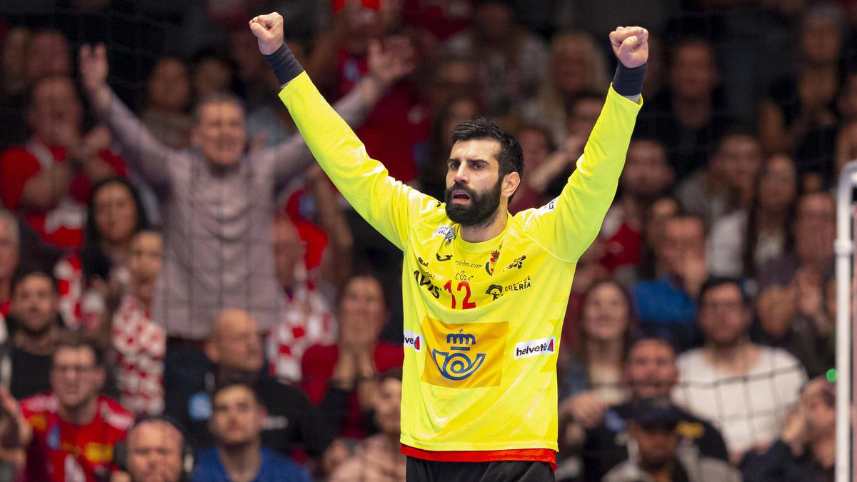 Spanien bezang bei der Handball-EM die Auswahl Weißrusslands