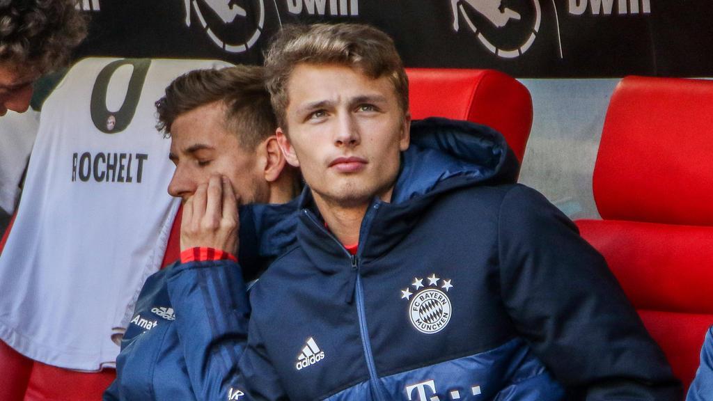Bisher ohne Einsatz für die Profis des FC Bayern: Fiete Arp