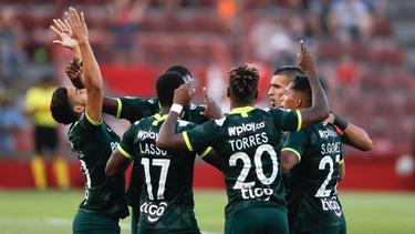 Atlético Nacional sigue peleando el título en Colombia.
