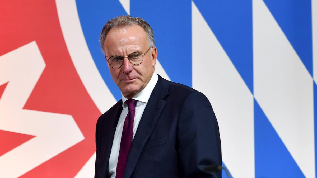 Übt Kritik an Thomas Müller: Karl-Heinz Rummenigge, Vorstandschef des FC Bayern
