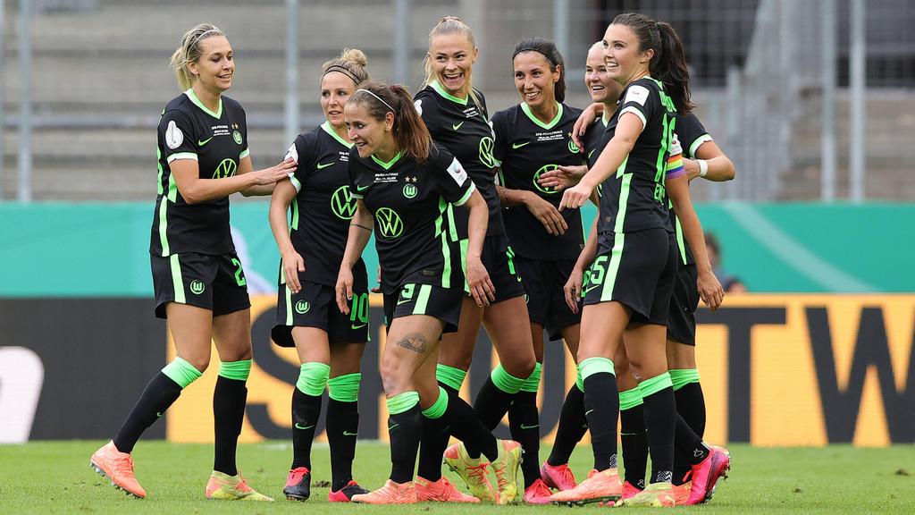 Die Wolfsburgerinnen setzten sich im Elfmeterschießen durch