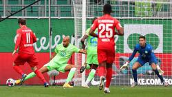 Kein Sieger zwischen Wolfsburg und Augsburg