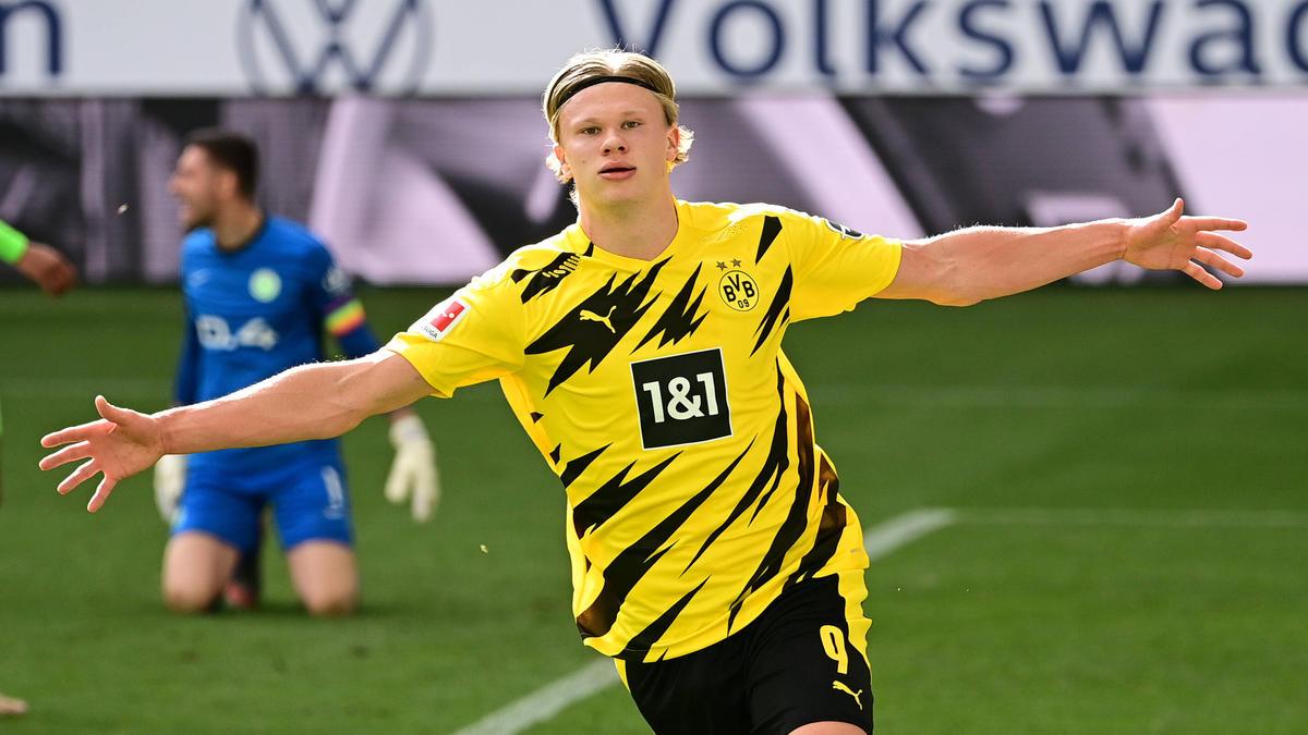 Erling Haaland vom BVB wird von vielen Top-Klubs umworben