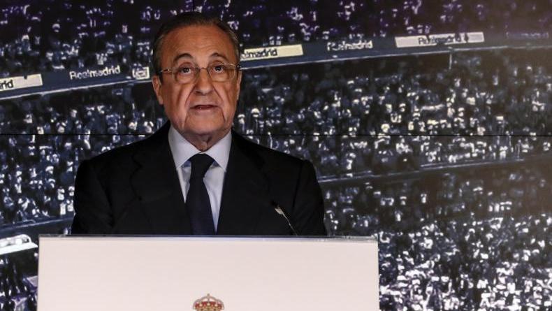 Präsident von Real Madrid: Florentino Pérez