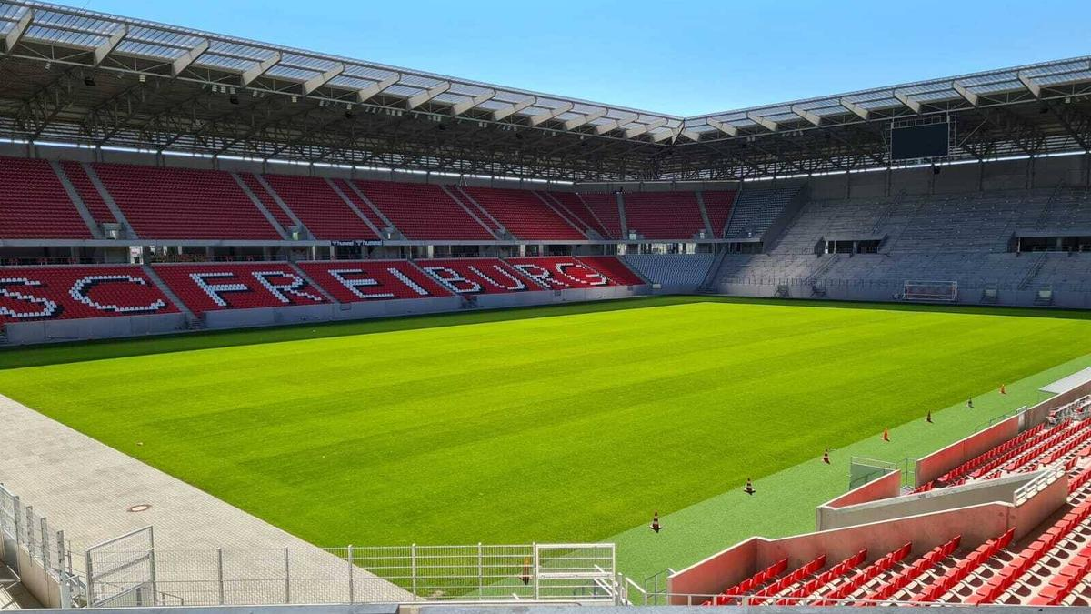 Die neue Spielstätte des SC Freiburg